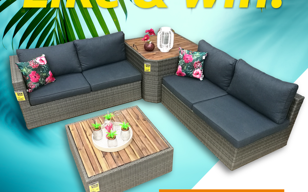 Win een loungeset! - Tref Center