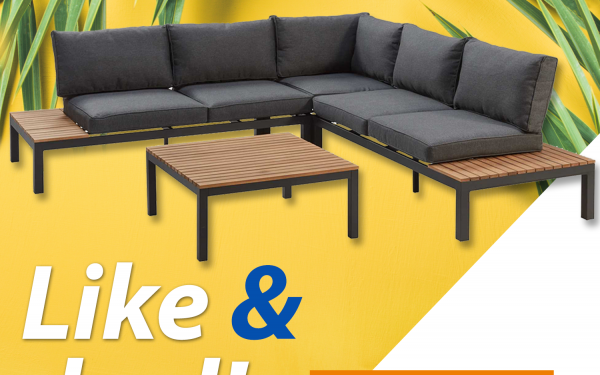 Win een super-de-luxe Kwantum-loungeset! - Tref Center
