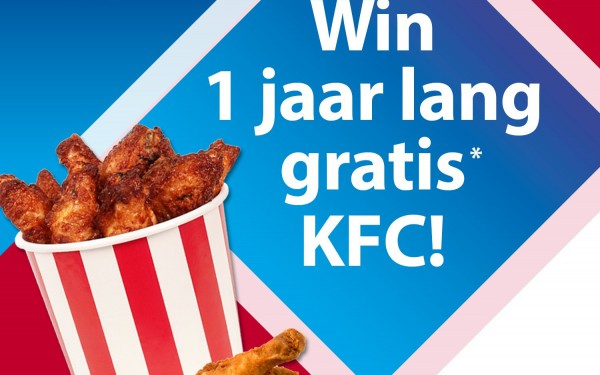 Win 1 jaar lang gratis* KFC! - Tref Center