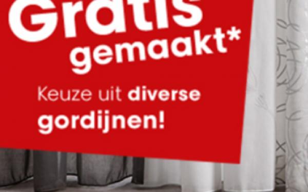 Ruime collectie gordijnen gratis gemaakt! - Tref Center Venlo